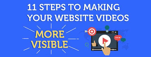 11 Steps video SEO